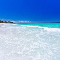 One of the whitest sands in the world