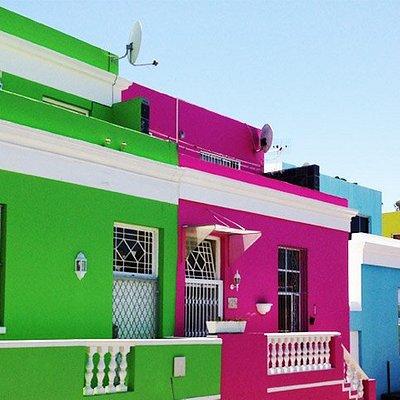 Colorful Bo-Kaap homes - Cape Town Walking Tour