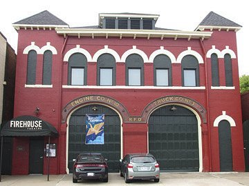 Firehouse Theatre -- an intimate performance space in a converted 1908 fire station