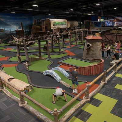 Rotorua's only indoor themed mini golf! Open 10am till 10pm - 7 days a week!