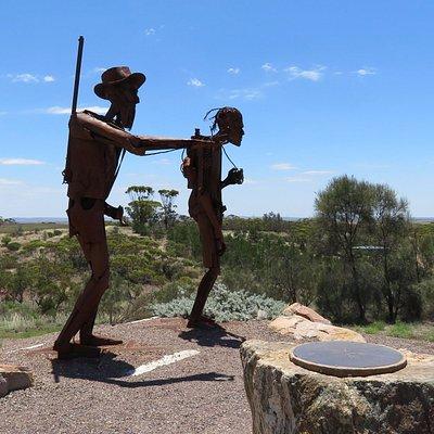 Edward John Eyre Sculptures at Kimba