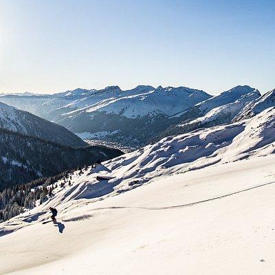 Skitouren und Freeride in der Region Davos Klosters