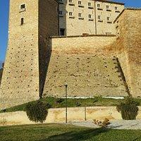 Vista esterna del Castello Brunforte