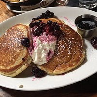 Lemon & Poppy Seed Buttermilk Pancakes