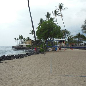 Just down the shore a bit but similar ocean front. quite decent snorkeling in this area. Be care