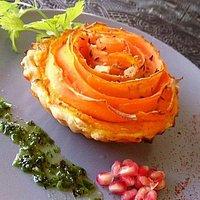 Tarte carotte et noisette