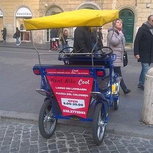 Rent a Bike  Roma, Tour a Bike Roma