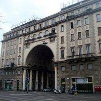 Facciata su Corso Venezia