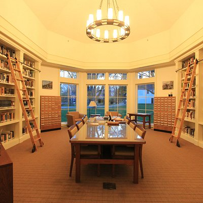 Library featuring one of the best collections of CT history!