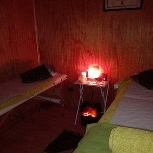 exelente relajante masaje buena presentacion rica aromaterapia sobre todo acogedor