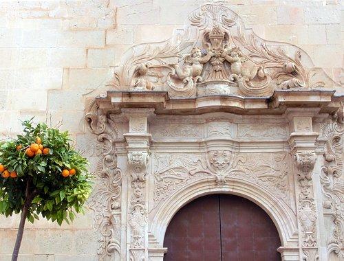 Красивый барочный фасад