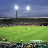 View of the Sydney Cricket Ground T20 Australia vs India Jan 2016