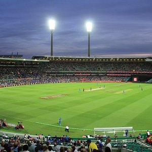 View of the Sydney Cricket Ground T20 Australia vs India Jan 2016