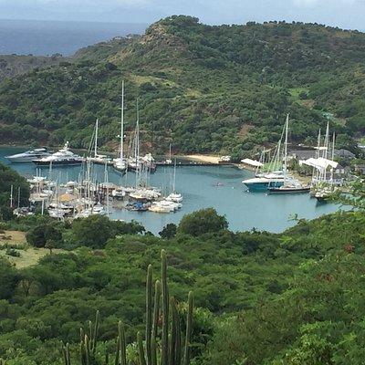 View of St John's Antigua