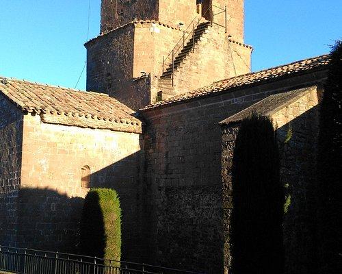 Campanario Monestir de Santa Maria de l'Estany