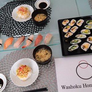 nigiri, maki and pressed sushi <3