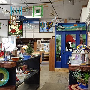 Our Gift Shop & Studio is filled with amazing glass creations!
