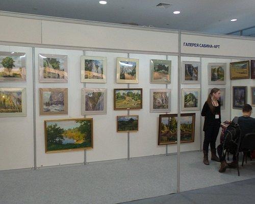 на выставке Арт-Екатеринбург 2016, декабрь