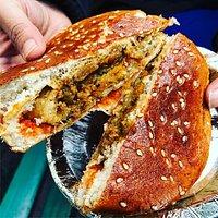 Bun Samosa ( served hot )
