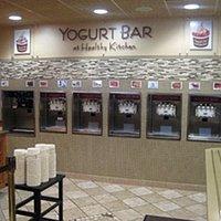 The yogurt bar!