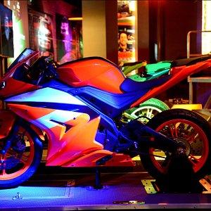superbike red