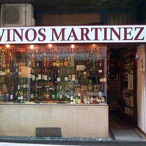 Bienvenidos a VINOS MARTINEZ!