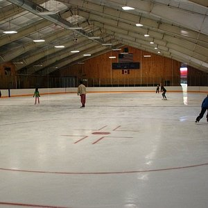 Home ice!