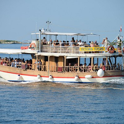 BOAT TRIP 1. ROVINJ-LIM FJORD-VRSAR 10.00-17.00       2. SUNSET WITH DOLPHINS 18.30-20.30 every