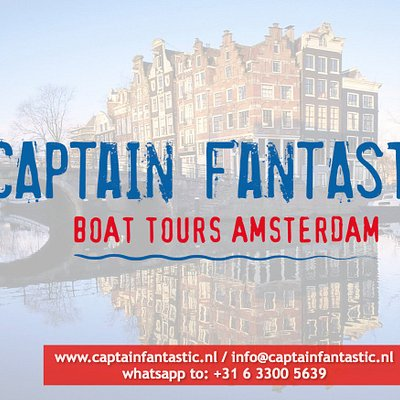 Captain Fantastic - small boating company, guided boat tours Amsterdam