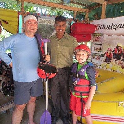 White water Rafting in Kitulgala