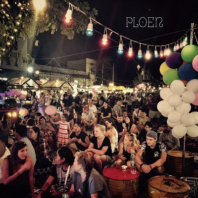 Second anniversary party at Ploen Ruedee Night Market 01-02-2017