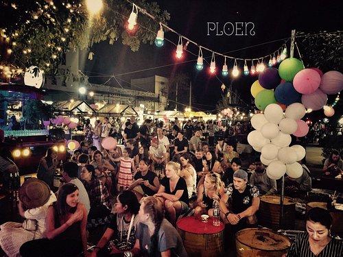 Second anniversary party at Ploen Ruedee Night Market 01-02-2017