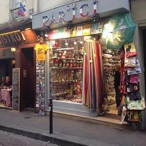 par ici les souvenirs de Paris