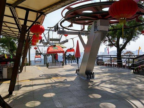 Shijing Park cablecar station