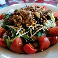 fig and tomato salad