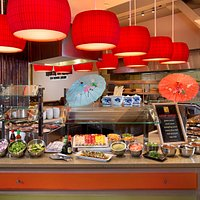 Sushi, Noodles & Dim Sum - Asian specialty items, traditional soups, salads and pho.