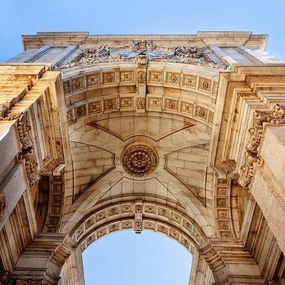 Downtown Lisbon, Rua Augusta Commemorative Arch.