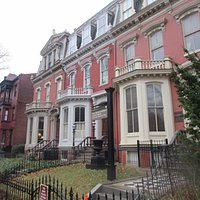 View of the beautiful Logan Circle historical rowhouse