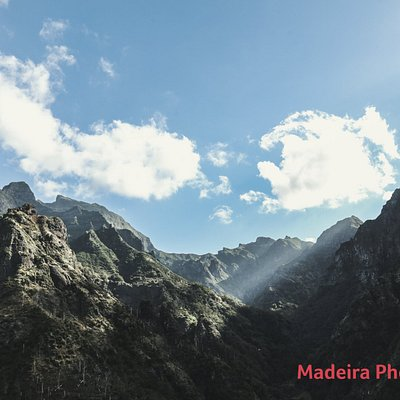 Incredible light passing trough Madeira Island's mountains... Be creative & inspire...