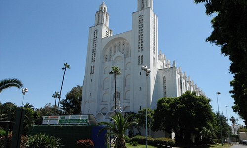 The Sacred Heart Cathedral, Casablanca.