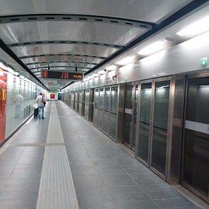Metro C la più nuova e incompleta, ancora in attesa che arrivi a S.Giovanni (febbraio 2017)