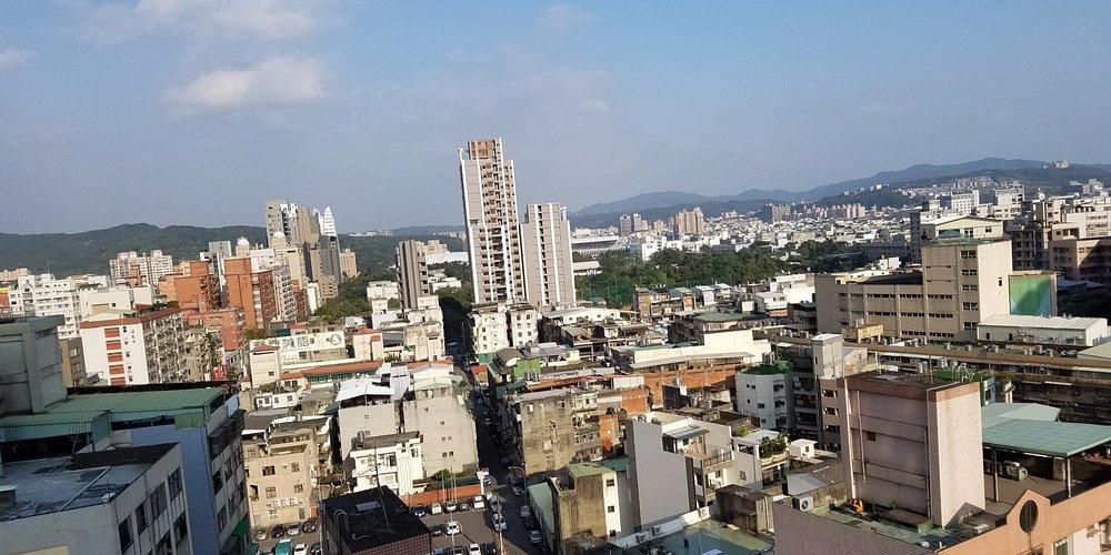 View outside the room on the 12th floor