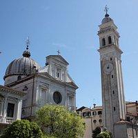 Колокольня церкви San Giorgio dei Greci