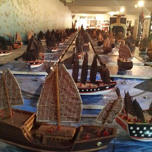Model of the chinese fleet