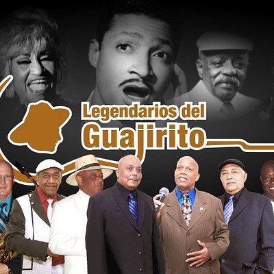 Legendarios del Guajirito,estrellas de ayer y de hoy de la música tradicional cubana.