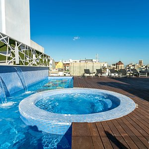 The Pool at the Axel Hotel Barcelona