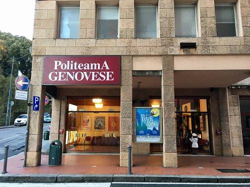 Ingresso Principale Teatro Politeama di Genova