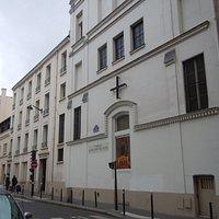 Vue d'ensemble de la façade extérieure