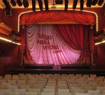 Sala do Teatro Maria Vitória