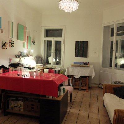 Atelier der Künstlerin Conny Wischhusen